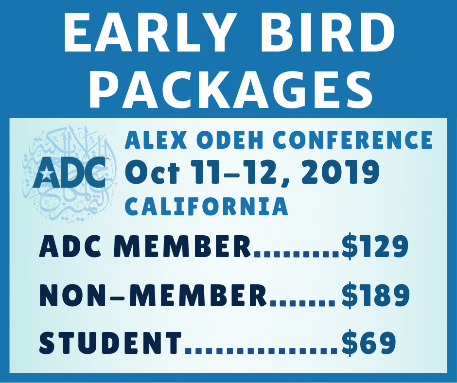 2019 Alex Odeh Conference - ADC